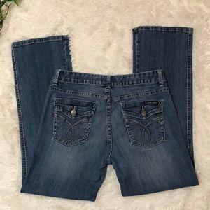 Calvin Klein Denim Bootcut Jeans Size 8
